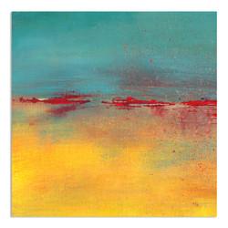 square-painting-red-aqua-yellow-landscape