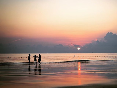 Sunrise hour in low tide __clubmedbintan