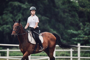 Not #horsingaround , it's #competitionda