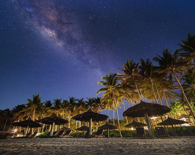 Starry night at the beach __clubmedbinta