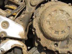 Dirty crankcase