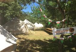 Campsite wide