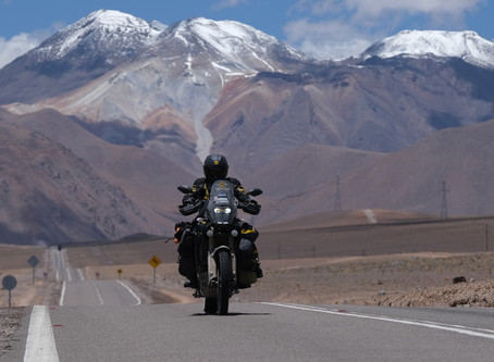 Moments #16 Crossing the Mighty Andes