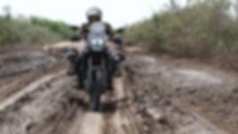 SEN - Diama back route, bike in mud 1.JP