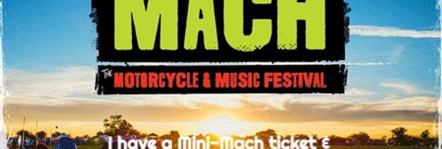UPGRADE TO BIG MACH (you must have a Mini-Mach ticket)