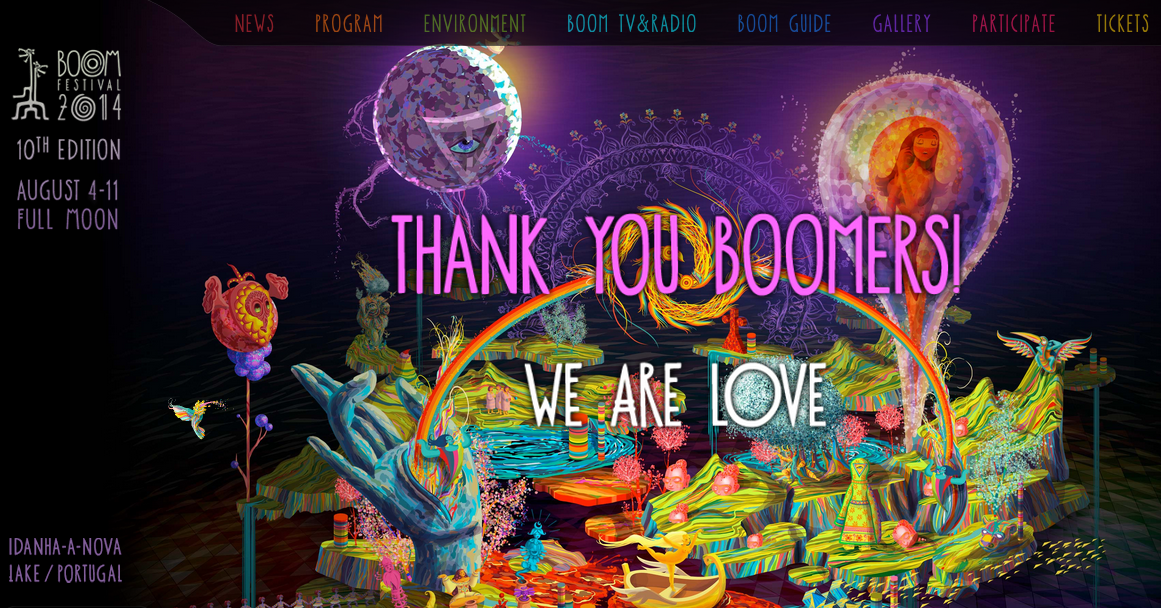 link para o site oficial do festival