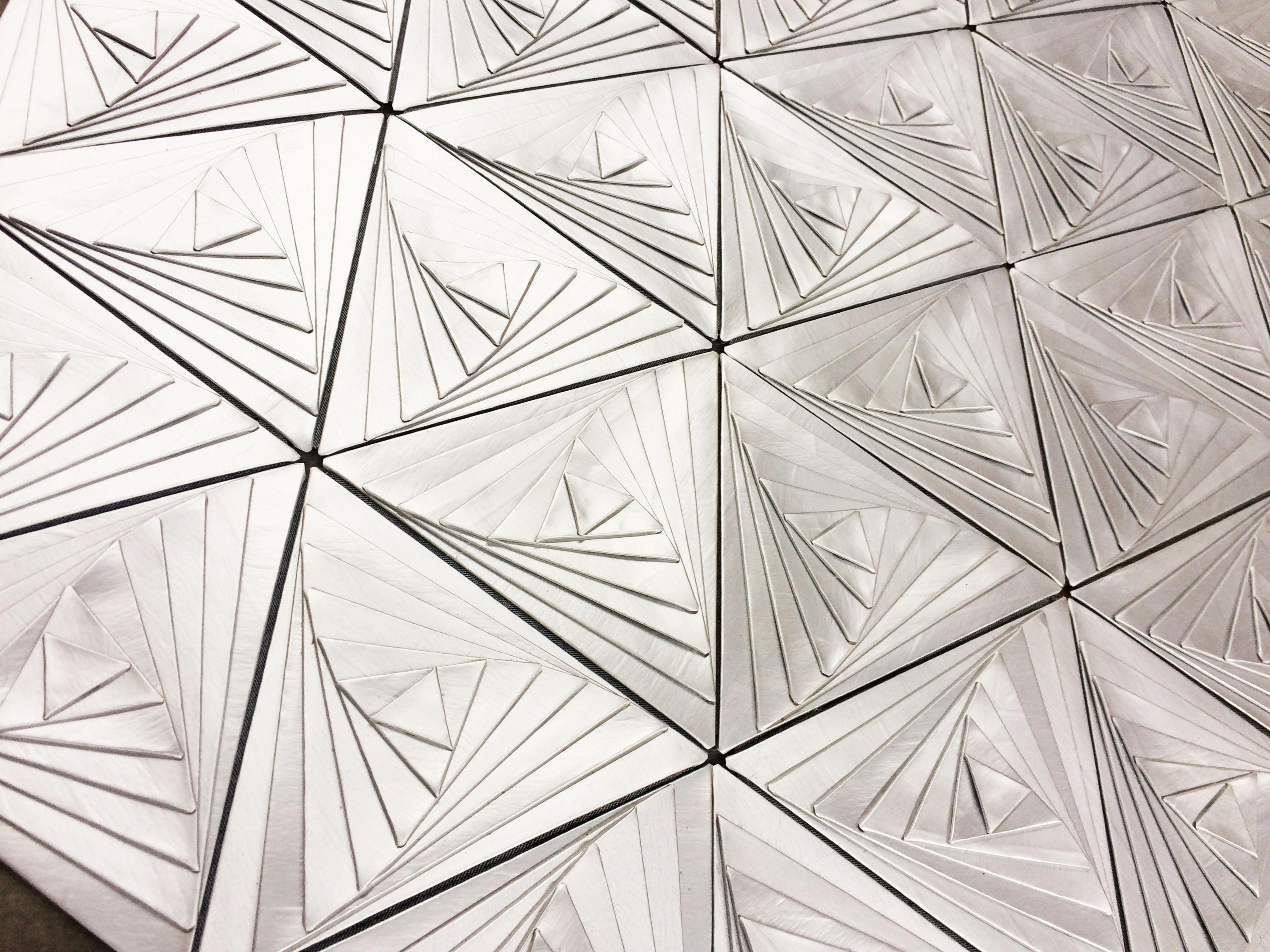 Hexagopak -escultura maleável