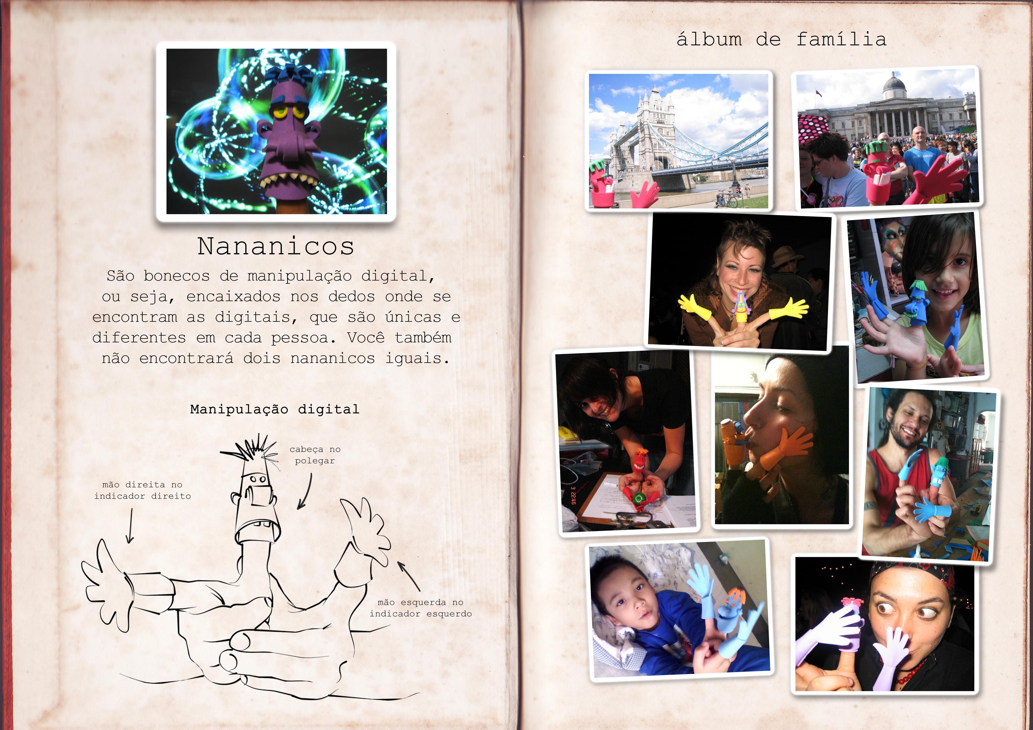 nananicos pelo mundo