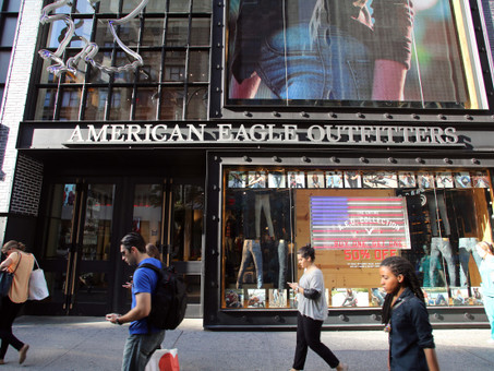 Aerie Helps Propel American Eagle Sales Growth