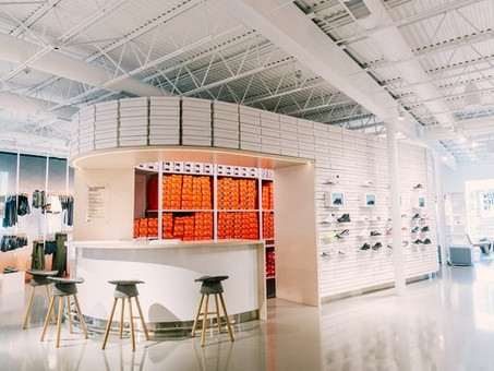 Nike plans up to 200 small-format stores, despite 38% revenue drop