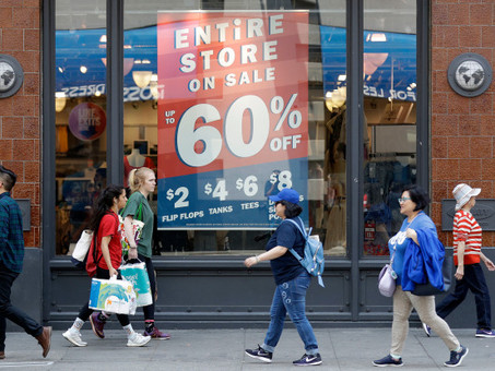 Retail Sales Bounced Back Last Month