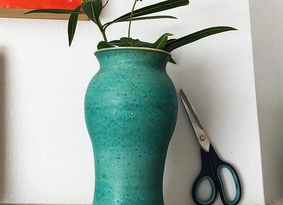 Tall Vase, Jade Green