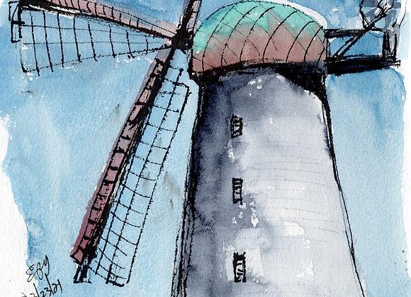 San Francisco Dutch Windmill