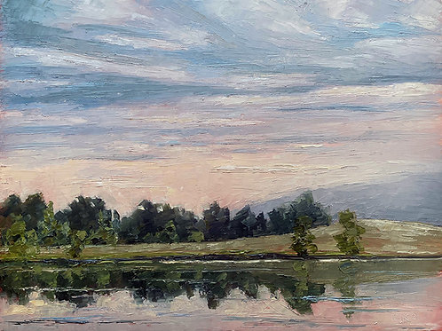 Sundown on the Water
