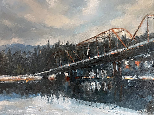 Bridge over the Clark Fork