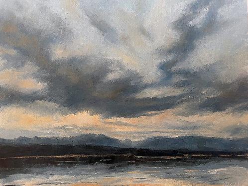 Seeley Lake Sunrise