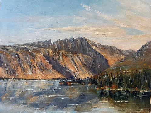 Boundary Mountain in Glacier Park