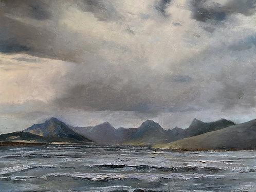 Storm Chop on Lake McDonald