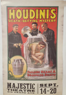 Houdini print - 45.00