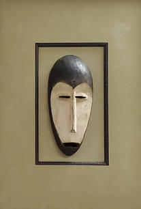 African tribal protection mask - 250.00