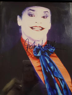 Jack Nicholson signed picture- 175.00