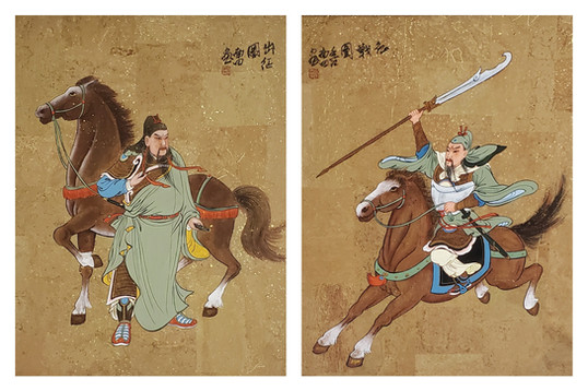 Chinese Soldiers - 350.00