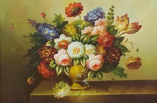 Spring Flowers - 250.00