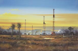 Oil Derricks - 2400.00