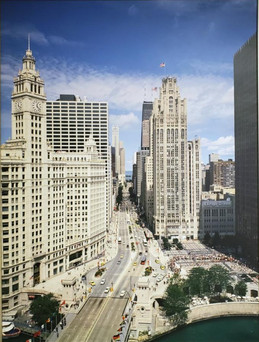 Michigan Ave, Chicago, Illinois - 500.00
