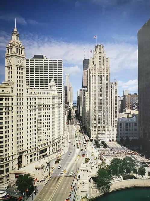 Michigan Ave. , Chicago, Illinois