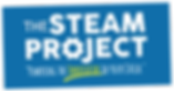 The STEAM Project logo. Powering the innovator in your child