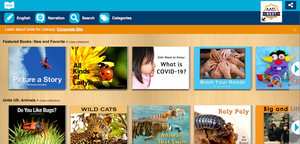 Free digital access to a digital library of picture books
