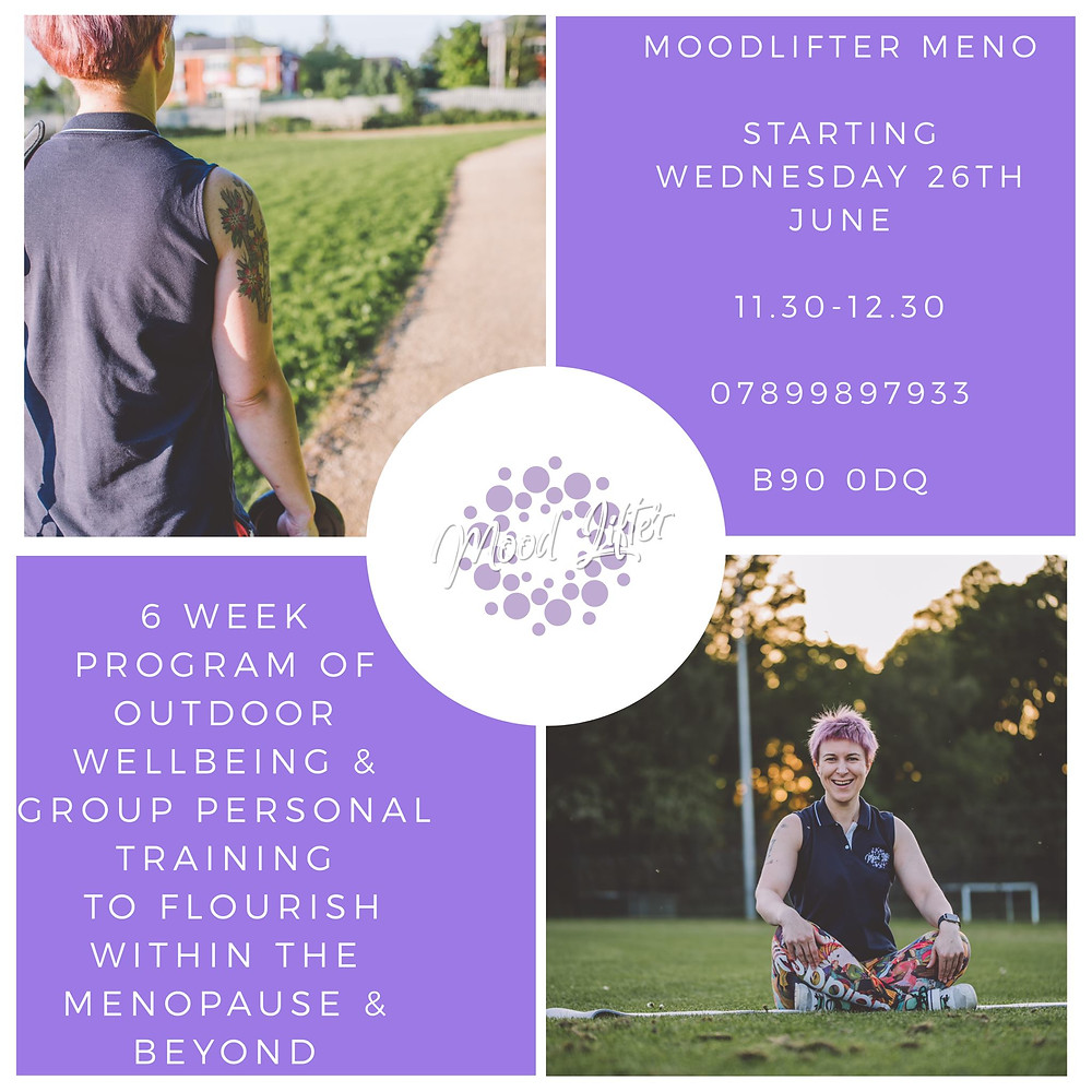 MoodLifter Meno personal training and well being for peri and post menopause