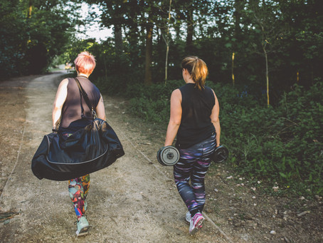 What are the health benefits of exercising outside in the West Midlands?