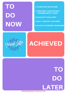template to help overcome procrastination and perfectionism
