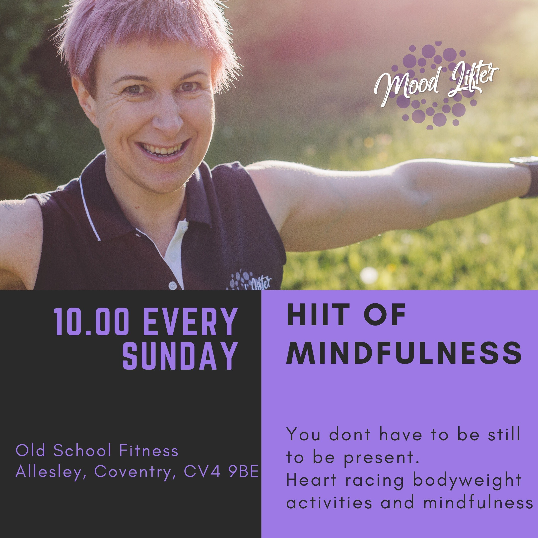A HIIT of Mindfulness - Indoor Class