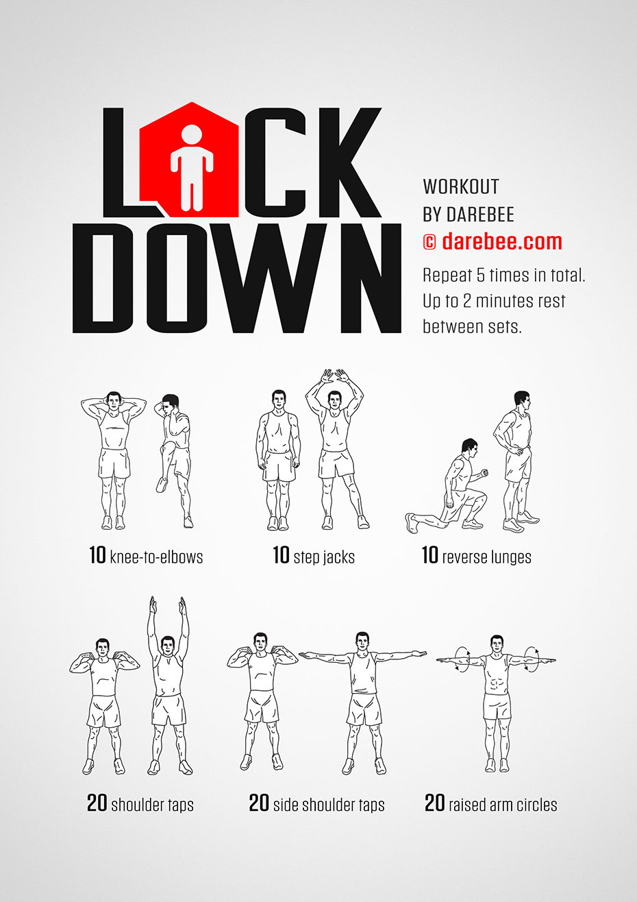 At home exercise idea