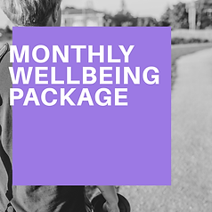 Monthly Wellbeing Package IN Solihull or Online