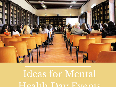 Practical things organisations  can do on mental health day to boost employee wellbeing