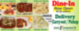 Dine- In , Online ordering for Delivery or Carry-Out. Italian Food. Zio Johno's. Marion. Iowa City. North Liberty. Cedar Rapids. Spaghetti, Lasagna, Pizza, Lettuce Salad, Garlic Bread, Fresh Bread, Sub Sandwiches, Gondola Sandwich, Italian Cuisine