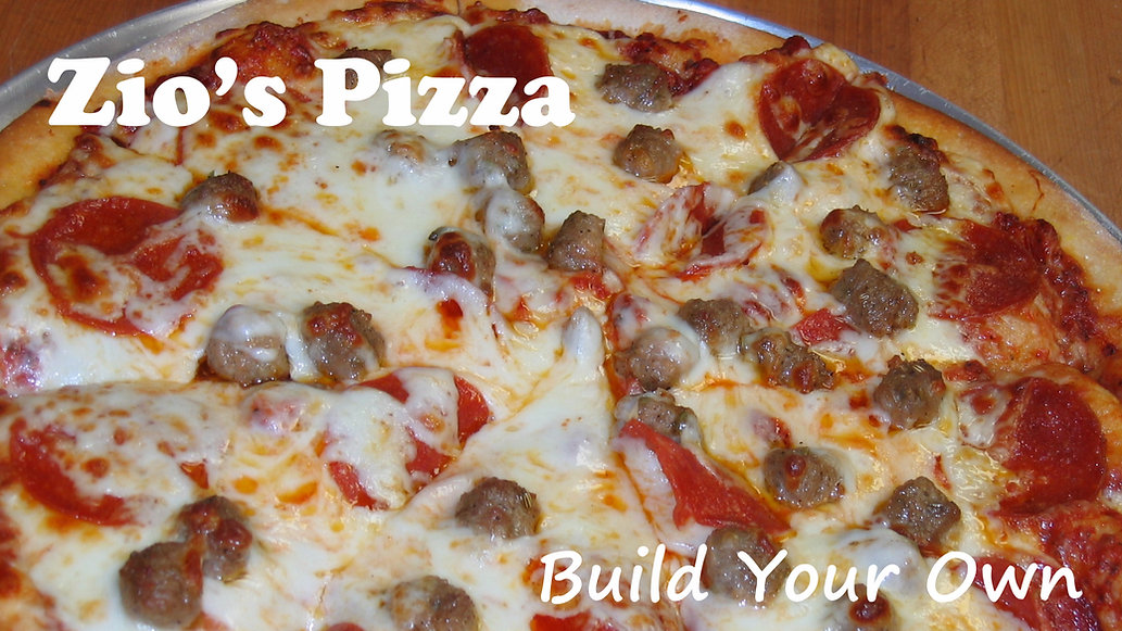 Build your own Pizza. Celebrate National Pizza Day.