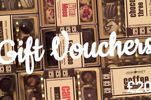 E-Gift Voucher £20