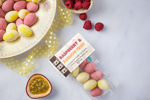 Raspberry & Passion Fruit Mini Eggs