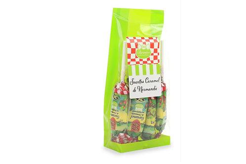 Sachet de 8 Sucettes caramel lait décor Normandie