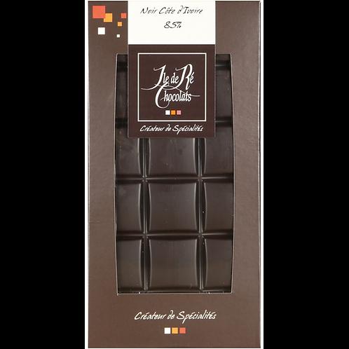 Tablette chocolat NOIR 85% - 100g