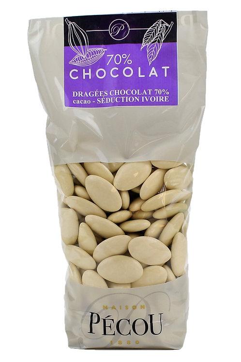 Dragées Chocolat Ivoire 250g