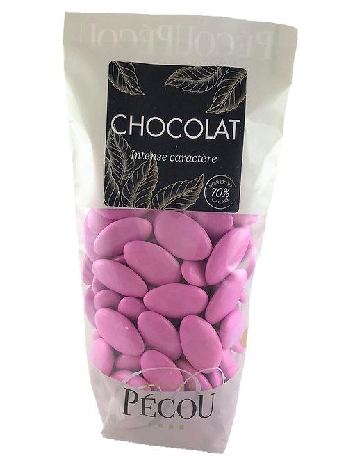 Dragées Chocolat Rose Bonbon 250g