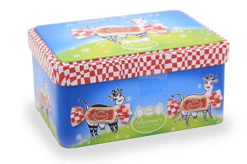 Boîte Métal de caramels au Lait beurre salé décor Normandie 100g
