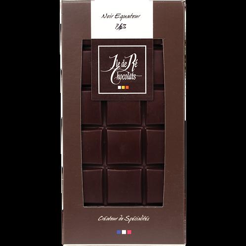 Copie de Tablette chocolat NOIR Equateur 71% - 100g