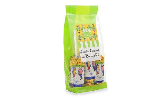 Sachet de 8 Sucettes caramel lait décor Bretagne